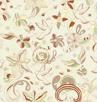 Free seamless pattern vector - бесплатный vector #242821