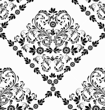 Free victorian seamless pattern vector - Kostenloses vector #242851
