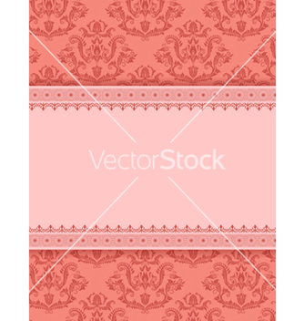 Free vintage invitation vector - бесплатный vector #242891