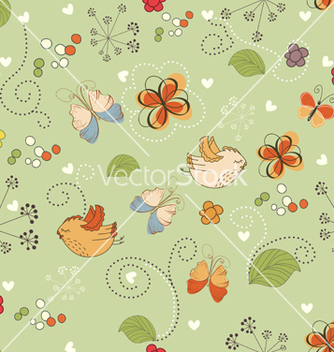 Free seamless pattern vector - бесплатный vector #242941