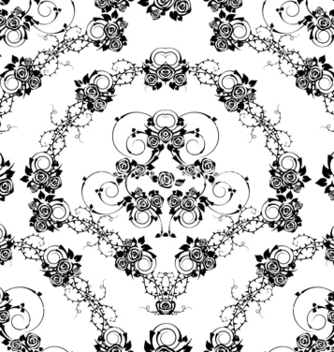 Free victorian seamless pattern vector - Kostenloses vector #242951