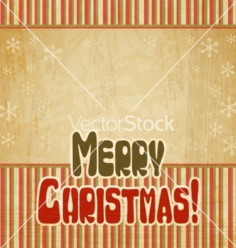 Free retro merry christmas background vector - vector gratuit #243001