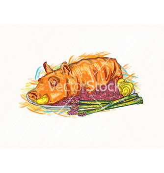 Free cooked food vector - Free vector #243191