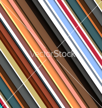 Free striped pattern in retro colors vector - vector gratuit #243461