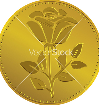 Free british money gold coin vector - бесплатный vector #243471
