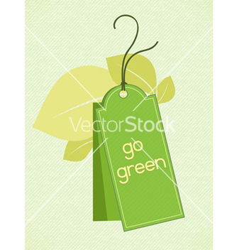 Free eco friendly tag vector - Kostenloses vector #243601