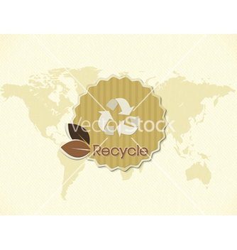 Free eco friendly sticker vector - Kostenloses vector #243671