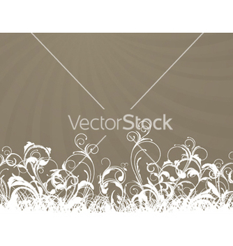 Free rays with floral vector - vector gratuit #244101