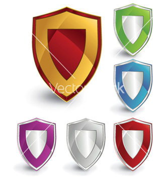 Free shield icon vector - Kostenloses vector #244111