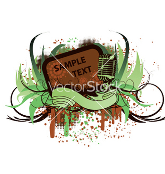 Free music frame vector - бесплатный vector #244291