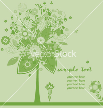 Free abstract tree vector - Free vector #244361
