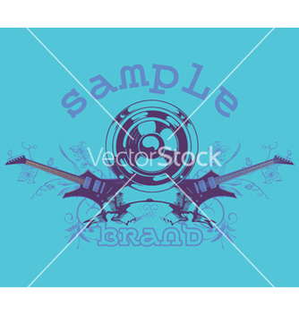 Free music tshirt design vector - бесплатный vector #244411