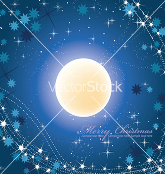 Free winter background vector - Free vector #245151