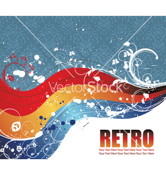 Free vintage background vector - vector #245191 gratis