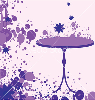 Free grunge with table vector - vector gratuit #245481