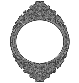 Free engraved floral frame vector - Free vector #245541