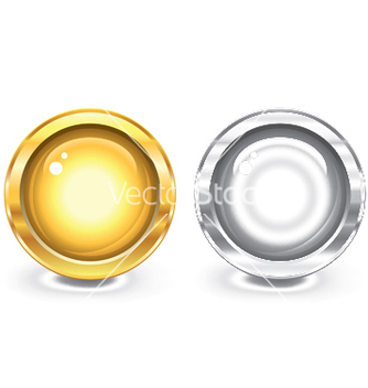 Free glossy buttons vector - Kostenloses vector #246321