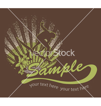 Free summer tshirt design vector - бесплатный vector #246711