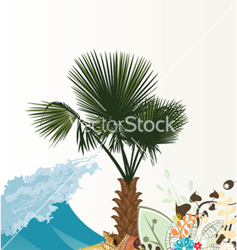 Free summer floral background vector - Free vector #246951