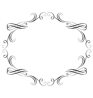 Free vintage calligraphic frame vector - Free vector #247101