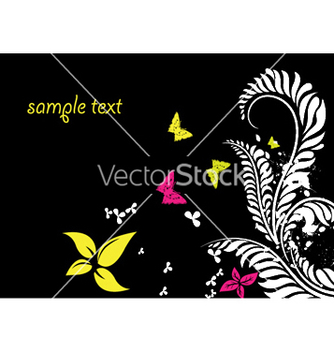 Free spring floral background vector - Free vector #247151