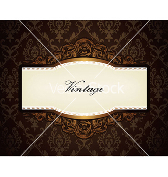 Free baroque floral frame vector - Free vector #247211
