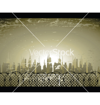 Free urban background vector - Free vector #247521