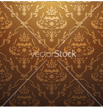 Free damask seamless pattern vector - Kostenloses vector #247751