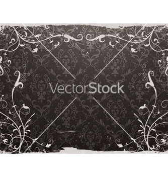 Free damask floral background vector - Kostenloses vector #248661