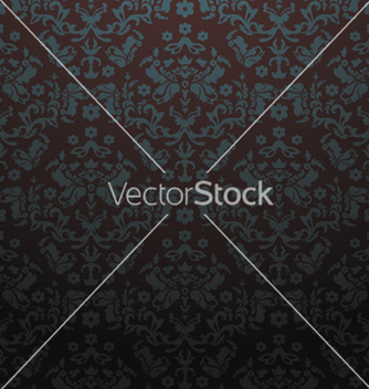 Free damask seamless pattern vector - Kostenloses vector #248761