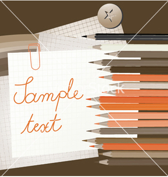Free abstract with pencils vector - vector #248801 gratis