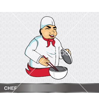 Free cartoon chef vector - Free vector #248811