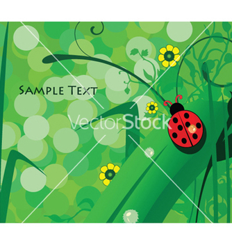 Free abstract spring background vector - Free vector #249261