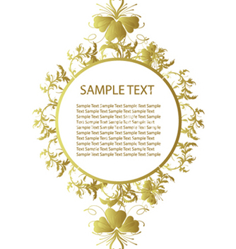 Free floral frame vector - Free vector #249341