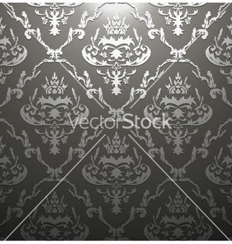 Free damask seamless pattern vector - Kostenloses vector #249351