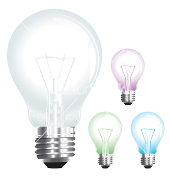 Free lightbulb vector - Free vector #249551