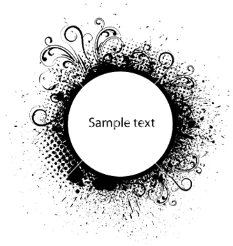 Free grunge frame vector - Free vector #249991