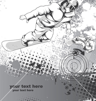 Free winter sports vector - vector gratuit #250341