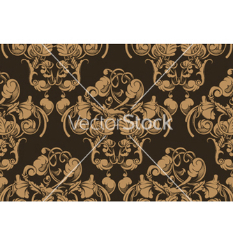 Free victorian seamless pattern vector - Kostenloses vector #250541