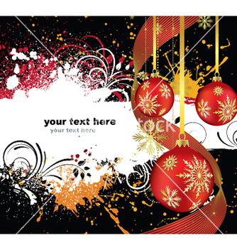 Free winter greeting card vector - Free vector #250881