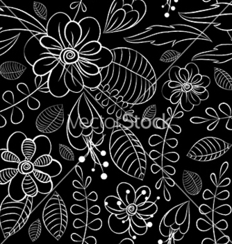 Free abstract seamless floral background vector - Kostenloses vector #251031