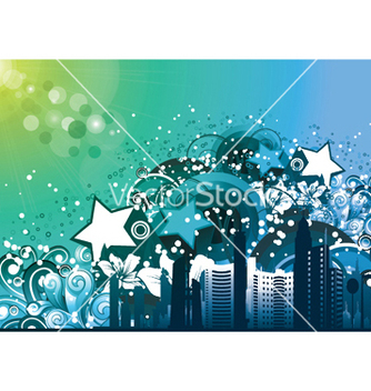 Free urban background vector - Free vector #251071
