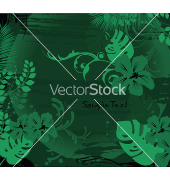 Free summer background with hibiscus vector - vector gratuit #251101