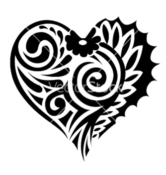 Free tatoo heart vector - Free vector #251251