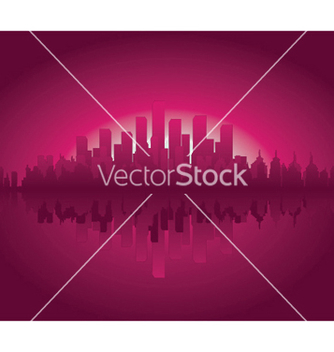 Free vintage city background vector - Free vector #251291