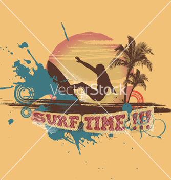 Free summer background vector - Free vector #251541