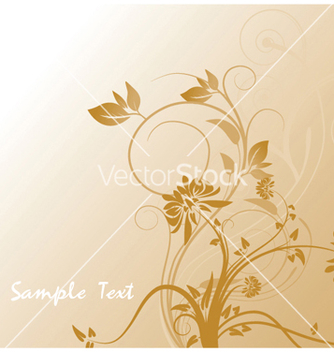 Free abstract floral vector - Free vector #251861