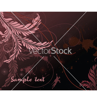 Free grunge floral background vector - vector gratuit #251881
