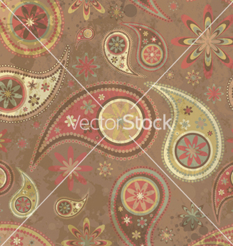 Free paisley background vector - Free vector #252061