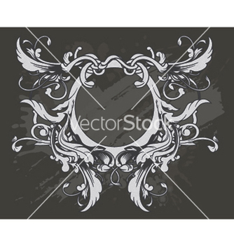 Free baroque floral ornament vector - бесплатный vector #252431
